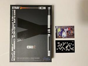 STRAY KIDS GO生 1st Album LIMITED Photobook +CD +Group Photocard