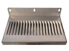 Refrigerator Beer Keg Kegerator Draft Faucet Metal Drip Tray 10 X 6