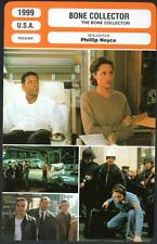 THE BONE COLLECTOR - Washington,Jolie,Latifah (Fiche Cinéma) 1999