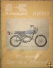 GENUINE FACTORY KAWASAKI SERVICE MANUAL  KM100