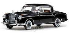 SUN STAR 3565 1958 58 MERCEDES BENZ 220 SE 220SE COUPE 1/18 DIECAST BLACK