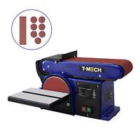 Levigatrice a Nastro e Disco da Banco per Levigatura Legno 500W