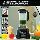 TORNADO Commercial Professional Blender Licuadora BPA-Free Automatic Timer 1800W