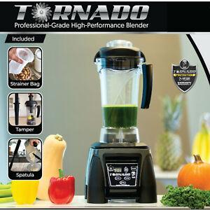 NEW Commercial-Grade TORNADO Blender/ Ninja/Vitamix-Alternative /Licuadora/1800W