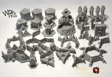 Blackstone Set terreno Token compatible con fortaleza. dragones resto wargaming Sc Fi