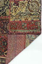 look antique patchwork moderne délavé PERSAN TAPIS tapis d'Orient 2,40 x 1,70