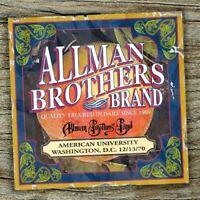 The Allman Brothers - American University Washington D.C.12-13-70 [New Vinyl LP]