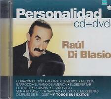 CD - Raul Di Blasio NEW Personalidad 1 CD & 1 DVD FAST SHIPPING !