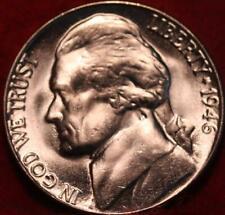 Uncirculated 1946-D Denver Mint Jefferson Nickel Not Silver