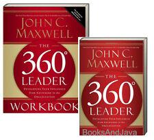 360° Leader & 360° Leader Workbook (pb) John C Maxwell develop influence 2 Books