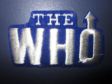 Vintage Vtg 80s Embroidered Rock & Roll Band Music Patch - The Who