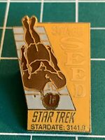 Star Trek Classic TV Series 22nd Aired Episode Space Seed Logo Pin NEW UNUSED