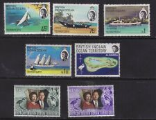 stamps  Great Britain  Indian Terretory 2 sets