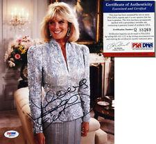 LINDA EVANS Hand Signed 8x10 - DYNASTY - PSA/DNA - UACC RD #289