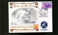 ENGLISH BULLDOG 2006 C/I YEAR OF THE DOG STAMP COVER 1