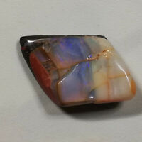 Outstanding 24.5CT +VIDEO Polished Specimen Australian Boulder Opal