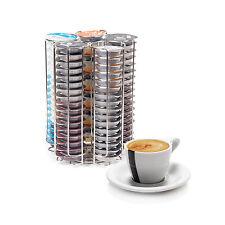 Tassimo 5 Column 80 PC Coffee Pod T-DISC Capsule Holder Dispenser Chrome Bosch