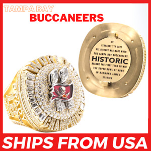 FROM USA- TAMPA BAY BUCCANEERS 2020 Ring DETACHABLE Super Bowl LV 2021 Champions