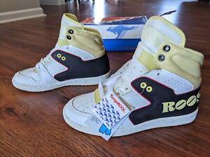 VTG 1985 ROOS Shoes Youth size 2.5 deadstock kangaroos 80's Sneakers 🦘 RARE