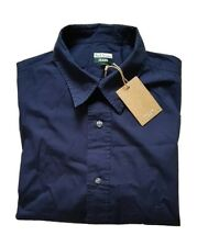 PAUL SMITH SHIRT RAM SKULL NAVY BLUE COTTON SIZE L (42) RRP £190 NEW WITH TAGS