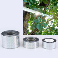 Holographic Sparkle Flash Bird Scare Tape Visual Audible Repellent 150/300/350ft