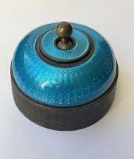 Very Rare Art Deco Enamelled Light Switch