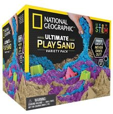 🚛Fast Shipping! 6lb National Geographic 3 Multi-Color Kinetic Sensory Sand