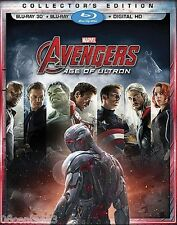Avengers: Age of Ultron ( Collector's Edition Blu-ray/Blu-Ray 3D Discs) *PG-13*