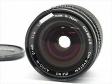 Olympus OM System Zuiko Auto-W MC 21mm f/2 f/2.0 MF Lens Exc+++ From Tokyo Japan