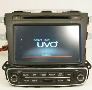 *READ* 14 Kia Sorento CD Satellite Bluetooth Navigation Radio OEM 96560-1UAA0VA