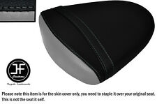 STYLE 2 BLACK GREY VINYL CUSTOM FOR SUZUKI GSXR 1000 K7 K8 07-08 REAR SEAT COVER