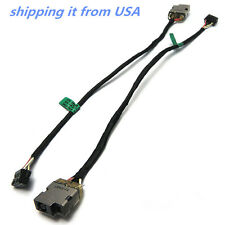 AC DC POWER JACK HARNESS PLUG IN CABLE FOR HP ENVY 15-j006cl 15-j010us 15-j011dx