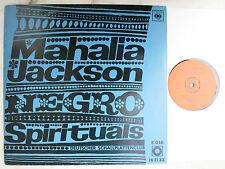 Mahalia Jackson - Negro Spirituals Everytime I Feel The Spirit LP CBS Club E 016