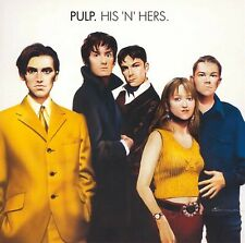 Pulp - His 'n' Hers (1994) Joyriders,Acrylic Afternoons Brand New Music Audio CD