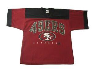 Vintage San Francisco 49ers Riddell 1996 Authentic NFL Jersey Size Medium