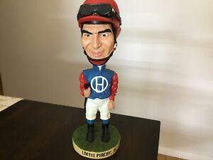 Laffit Pincay Jr Bobblehead Calder Race Course Exclusive Horse Racing