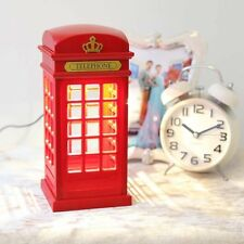 "Novelty Red ""British Phone Booth"" Corded / Wired Land Line Phone BT Virgin Sky"