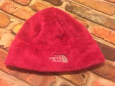 Girls North Face Denali Thermal Beanie Hat Hot Pink Small