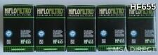 HUSQVARNA FE450 (2014 to 2016) HIFLOFILTRO FILTRO DE ACEITE (HF655) X 5 Pack