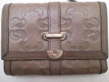 -AUTHENTIQUE portefeuille/porte-monnaie COCCINELLE  cuir  TBEG vintage