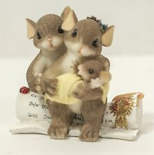 Charming Tails 89/157 We Are Family By Choice Mouse Adoption Figurine