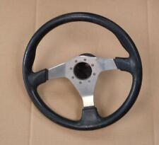 ALFA ROMEO 75 + 33 LEATHER STEERING WHEEL & HUB