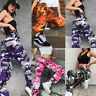 Womens Camo Cargo Trousers Casual Pants Ladies Military Army Combat Camouflage*