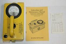 Victoreen Ocd Cdv 715 Radiation Detector Survey Meter Model 1a 1b Civil Defense