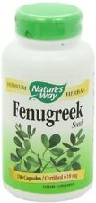 Nature's Way Fenugreek Seed 610 mg, Capsules 180ea New