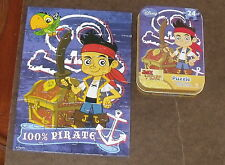 Disney Jr Jake and the Neverland Pirates 24 Piece Jigsaw Puzzle Tin Cardinal