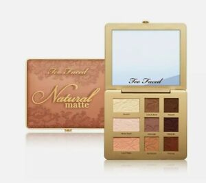 Too Faced Natural Matte Neutral Eye Shadow Palette    NEW IN BOX