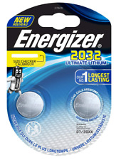 10x Energizer Ultimate Lithium Cr 2032 3V  im 2er Blister, 18% mehr LEISTUNG