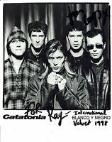 Cerys Matthews Catatonia Hand Signed Vintage Photograph 10 x 8