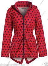 Abbigliamento rosso impermeabile in poliestere per bambine dai 2 ai 16 anni